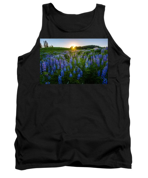 Lupine Meadow Tank Top
