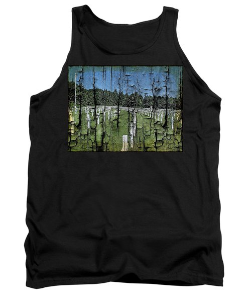 Luxembourg Wwii Memorial Cemetery Tank Top by Joseph Hendrix