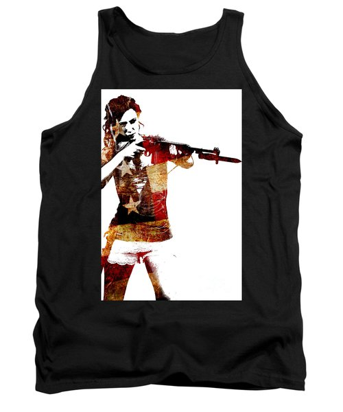 M1 Carbine And Bayonet Tank Top