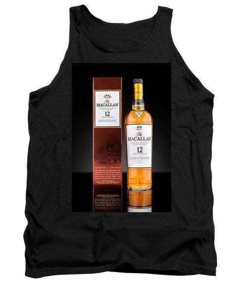 Macallan Single Malt Whisky Tank Top by Mihai Andritoiu
