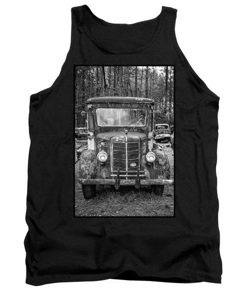 Mack Truck In A Junkyard Tank Top