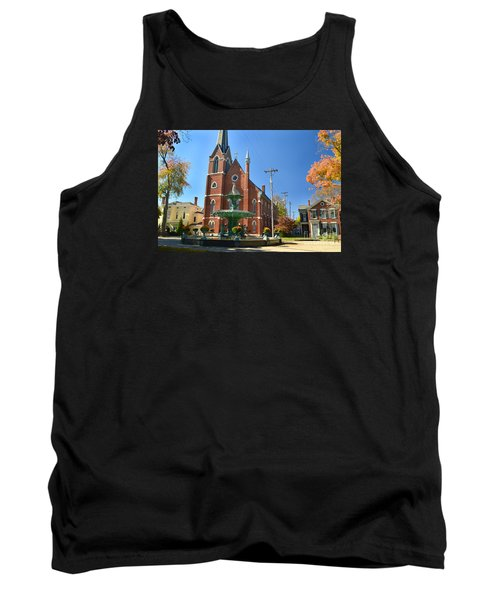 Madison Church And Water Fountain Tank Top