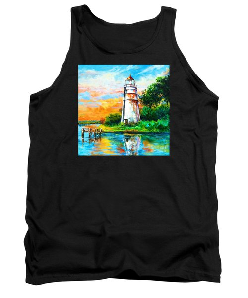 Madisonville Sunset Tank Top by Dianne Parks