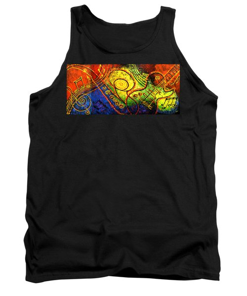 Magic Guitar Tank Top