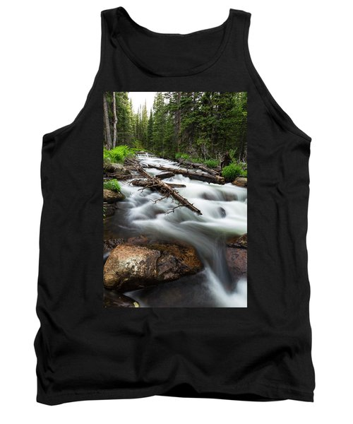 Tank Top featuring the photograph Magic Mountain Stream by James BO Insogna