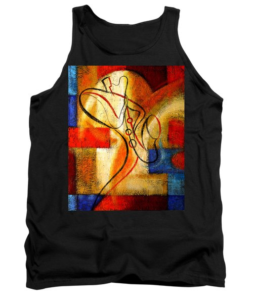 Magic Saxophone Tank Top