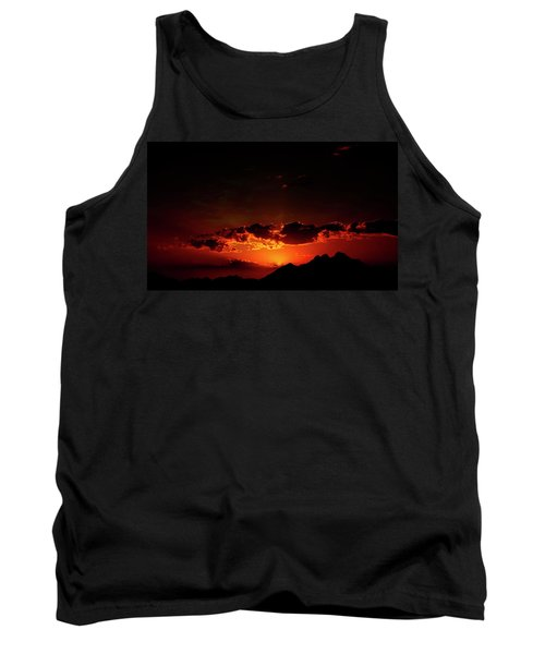 Magical Sunset In Africa 2 Tank Top
