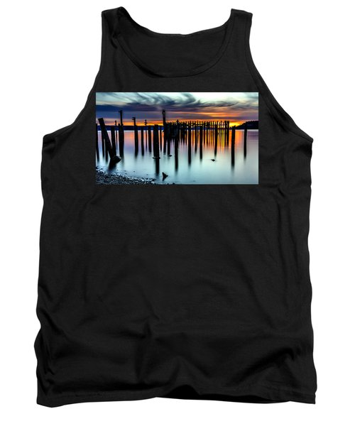 Magical Sunset Titlow Beach Tacoma Wa Tank Top
