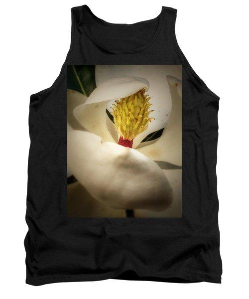 Magnolia Flower Tank Top