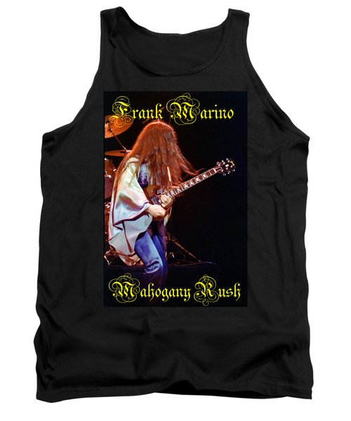 Mahogany Rush Seattle #2 With Text Tank Top