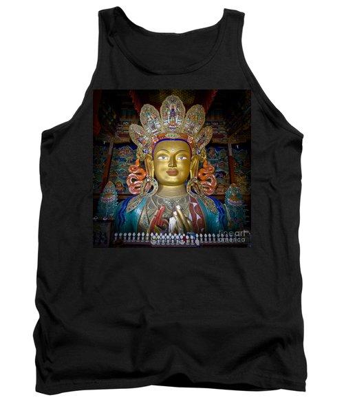 Maitreya Buddha Tank Top