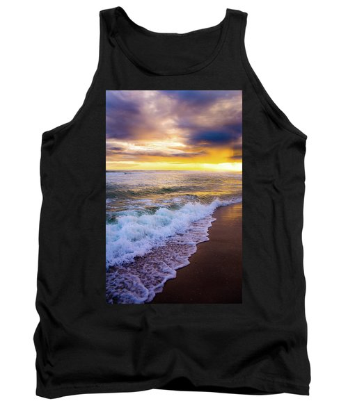 Tank Top featuring the photograph Majestic Sunset In Paradise by Shelby Young