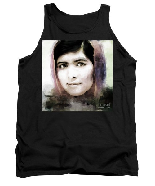 Malala Yousaf Zai 10 Tank Top