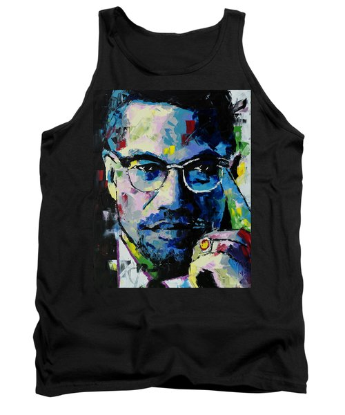 Malcolm X Tank Top by Richard Day