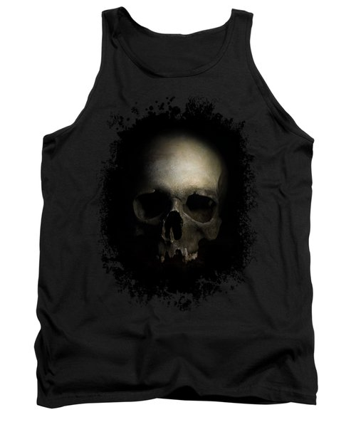 Tank Top featuring the photograph Male Skull by Jaroslaw Blaminsky