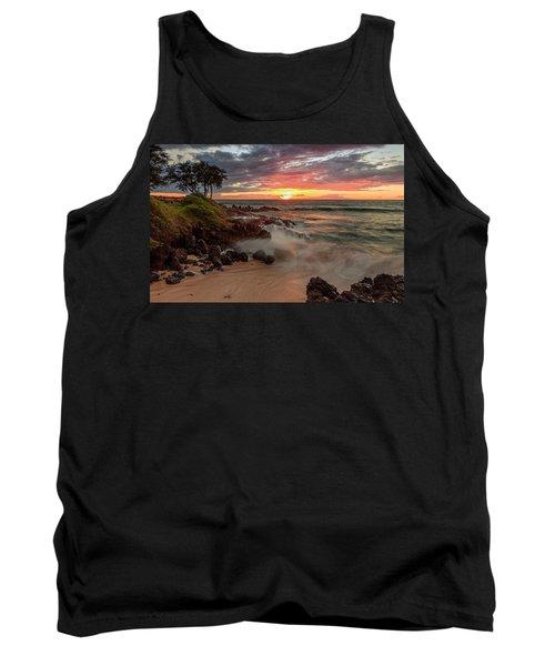Maluaka Beach Sunset Tank Top