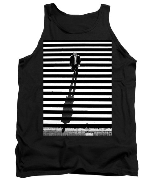 Man Bethesda Steps Tank Top
