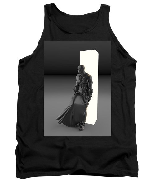 Man Lamp Number Eleven Tank Top
