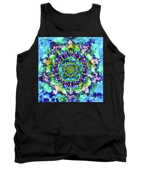 Mandala Art 1 Tank Top by Patricia Lintner