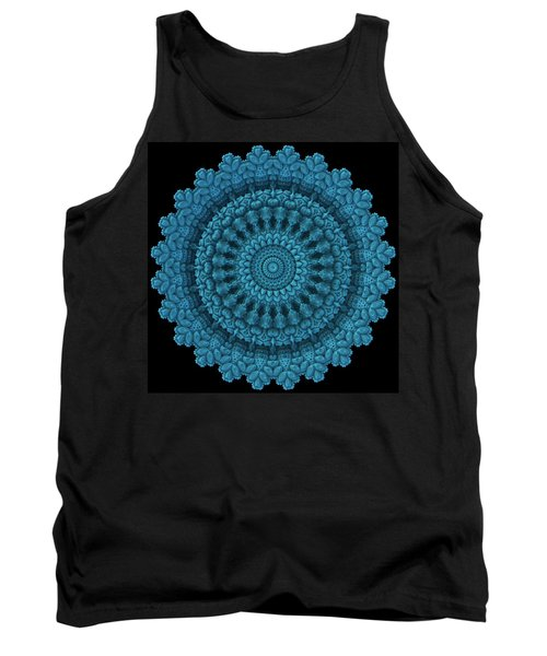 Tank Top featuring the digital art Mandala For The Masses by Lyle Hatch