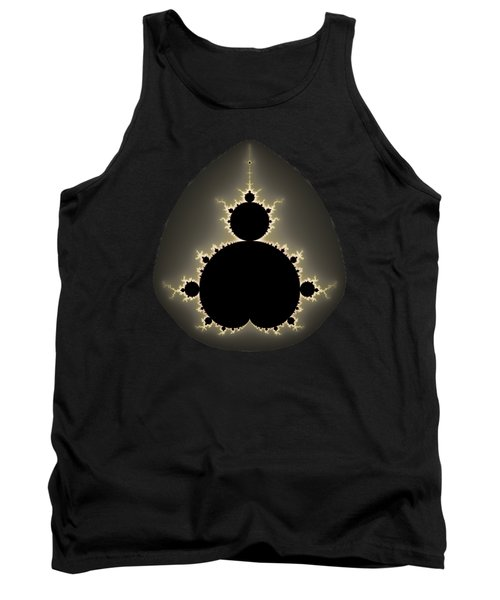 Mandelbrot Set Square Format Art Tank Top