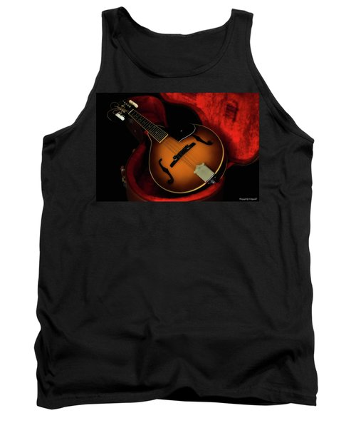 Mandolin Guitar 66661 Tank Top by Kevin Chippindall
