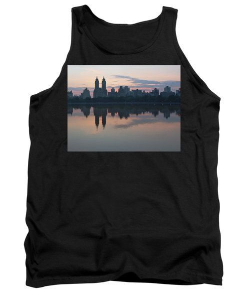 Manhattan At Night  Tank Top by Yvonne Wright