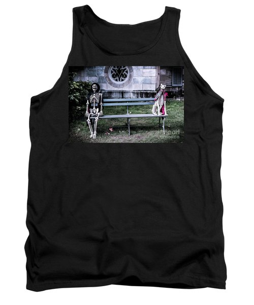 Tank Top featuring the photograph Man's Best Friend Till The End by Colleen Kammerer