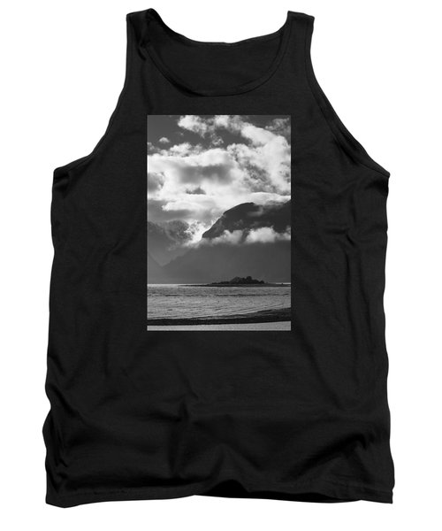Many Moods Of Pyramid Island Tank Top by Michele Cornelius