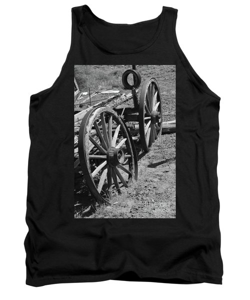 Tank Top featuring the photograph Many Years Ago by Debby Pueschel