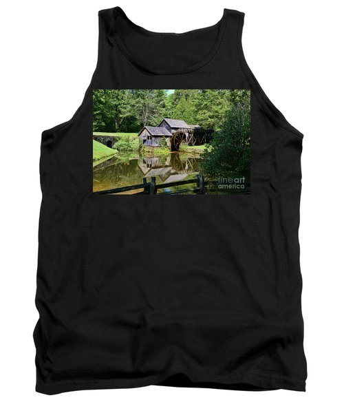 Tank Top featuring the photograph Marby Mill 2 by Paul Ward