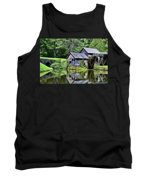 Tank Top featuring the photograph Marby Mill 3 by Paul Ward