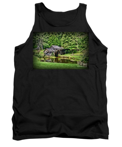 Tank Top featuring the photograph Marby Mill Landscape by Paul Ward