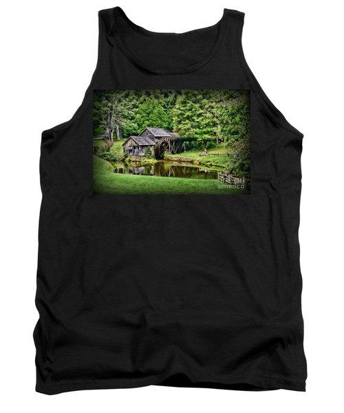 Marby Mill Landscape Tank Top by Paul Ward