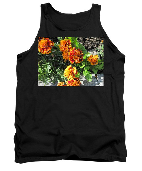 Marigolds In Prison Tank Top