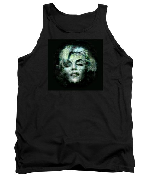 Tank Top featuring the digital art Marilyn Monroe by Kim Gauge
