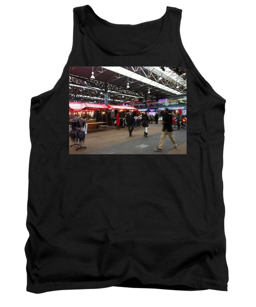Tank Top featuring the photograph Market Movement by Christin Brodie