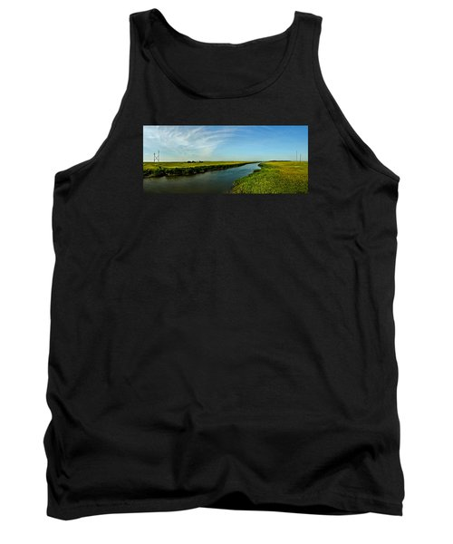 Tank Top featuring the photograph Marshes Of Glynn by Laura Ragland
