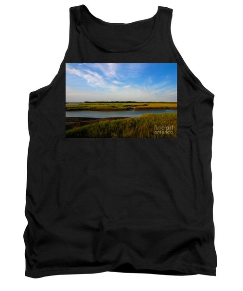 Marshland Charleston South Carolina Tank Top