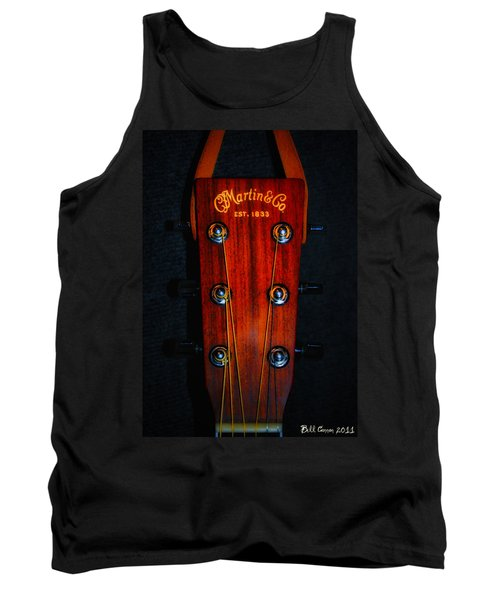Martin And Co. Headstock Tank Top