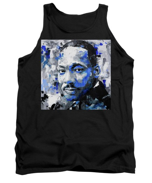 Tank Top featuring the painting Martin Luther King Jr by Richard Day