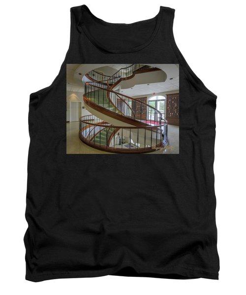 Marttin Hall Spiral Stairway 2 Tank Top