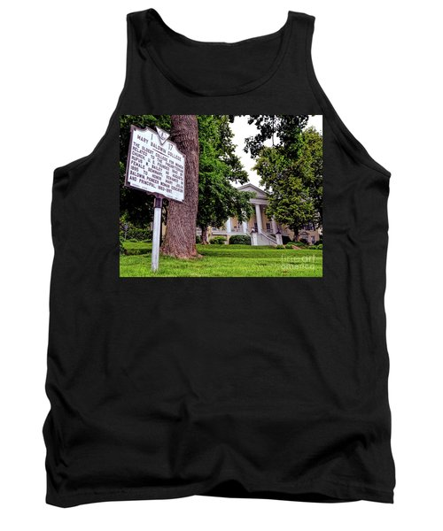 Tank Top featuring the photograph Mary Baldwin College - Staunton Virginia by Kerri Farley