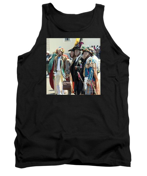 Masqueraders Of Sao Tome Tank Top by John Potts