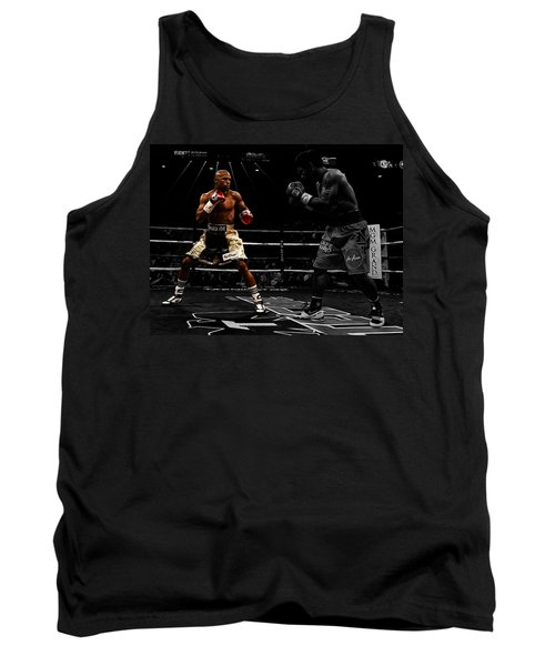 Mayweather And Pacquiao Tank Top by Brian Reaves