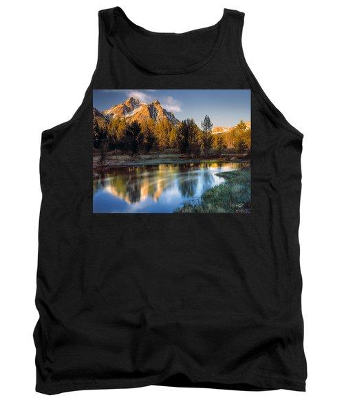 Mcgown Peak Sunrise  Tank Top
