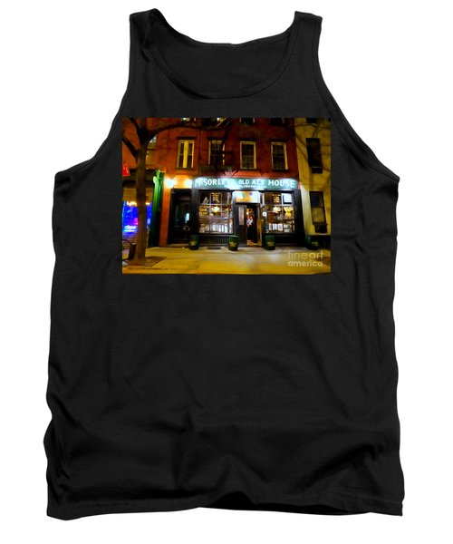 Mcsorleys At Night Tank Top by Ed Weidman