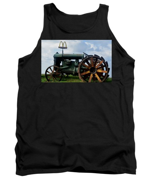 Mctractor Tank Top by Gary Smith
