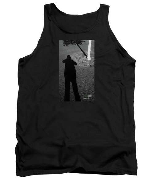 Me And My Shadow Tank Top by Nareeta Martin