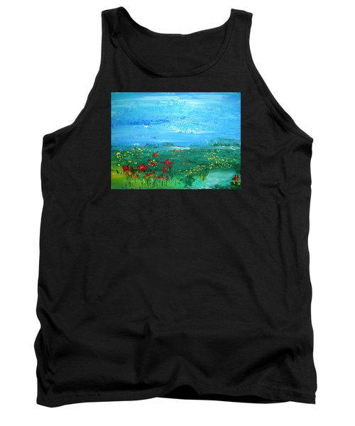 Meadow Pond By Colleen Ranney Tank Top